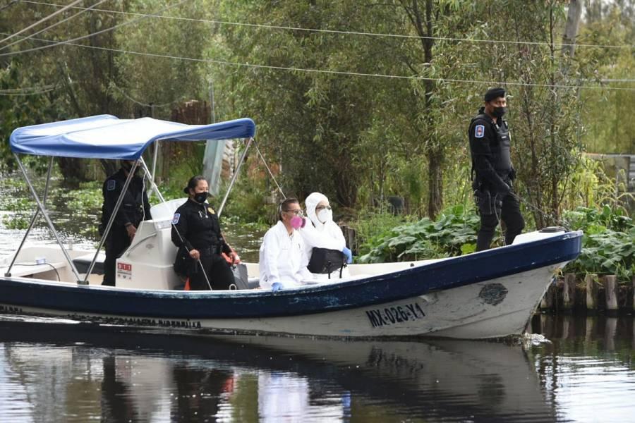 Una menor de 2 años fallece tras caer accidentalmente en canales de Xochimilco