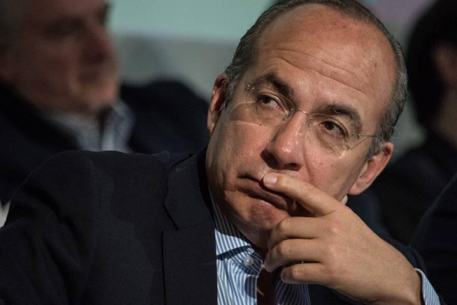 """""""Me van a hacer los mandados"""": Calderón afirma que AMLO busca revancha"""