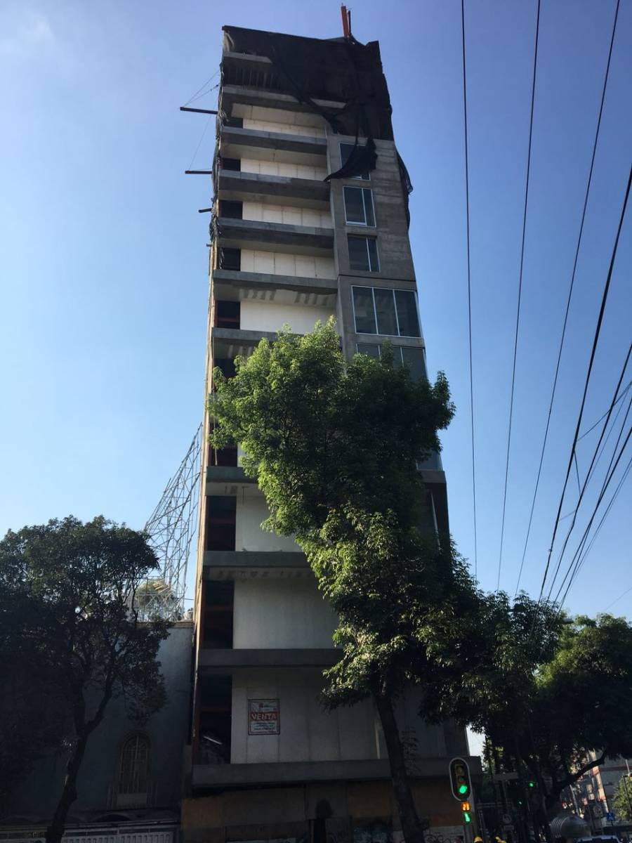 PAOT gana juicio y demolerán 7 pisos de un edificio