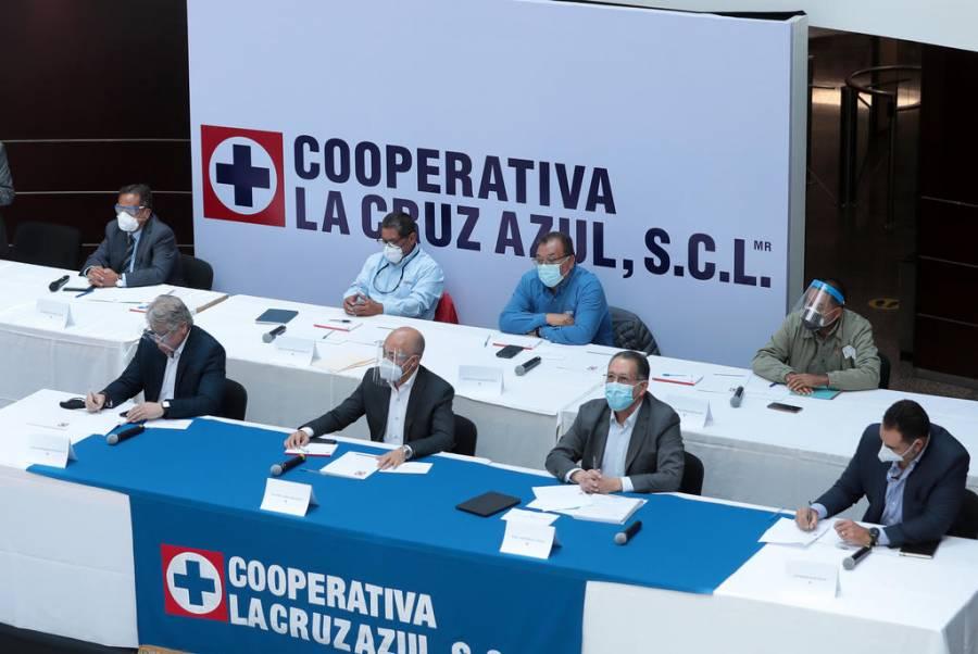 Cooperativistas de Cruz Azul presumen nueva presidencia