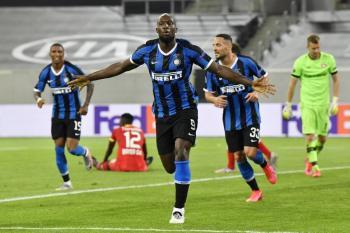 Inter de Milán clasifica a las semifinales de la Europa League
