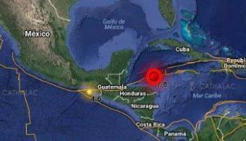 Se percibe en Quintana Roo sismo en el Caribe de 5.7