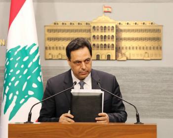 Renuncia gabinete del Gobierno de Líbano tras la explosión en Beirut