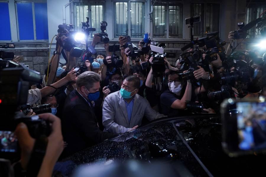 Liberan al magnate Jimmy Lai, opositor del régimen chino