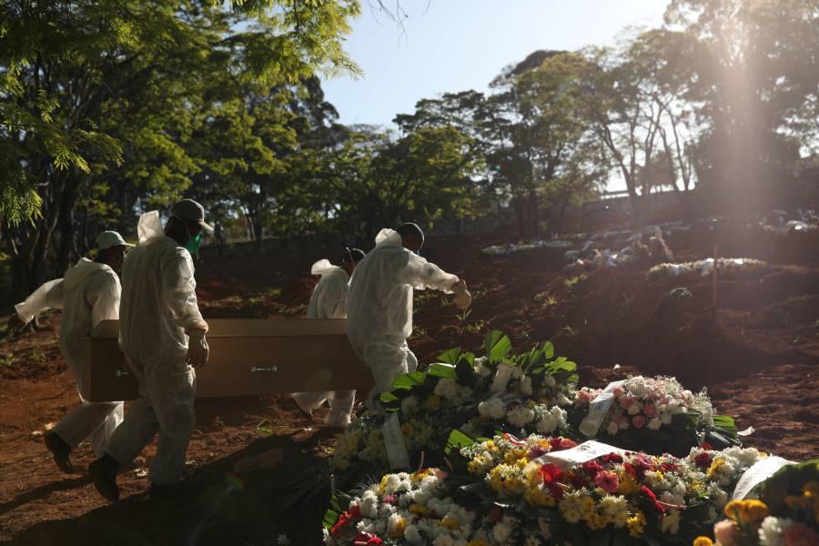 Brasil reporta más de 103 mil muertes por Covid-19