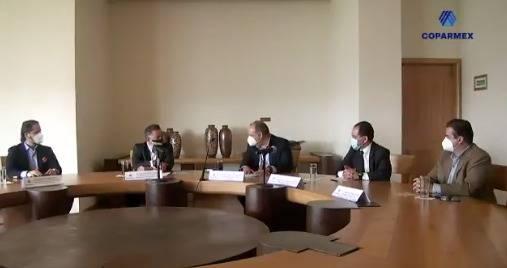 Coparmex y UIF firman convenio para combatir operaciones ilícitas