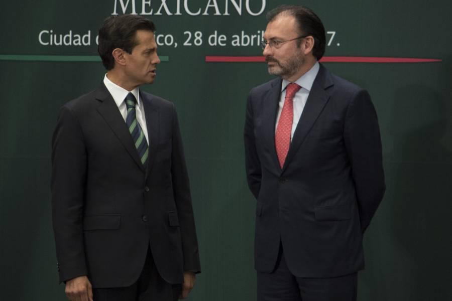 Lozoya señala a EPN y Videgaray de sobornar a legisladores