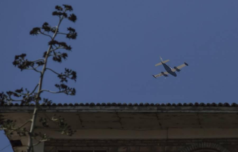 Por afectaciones al ciclo de lluvias, suspenden vuelos de avionetas en Edomex