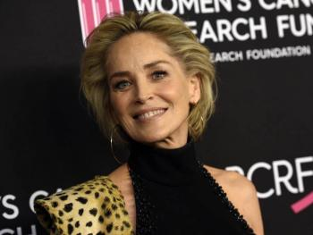 "Sharon Stone lanza libro ""The Beauty of Living Twice"""