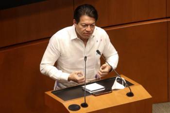 NO HAY DESVÍOS, PORQUE NO HAY CAMPAÑA: MARIO DELGADO