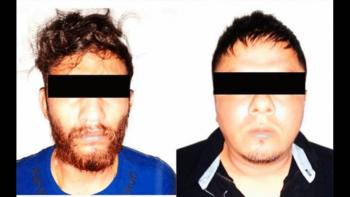 Detienen a dos presuntos integrantes del CJNG en Veracruz