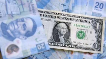 Peso registra leve ganancia por posibles estímulos en EEUU