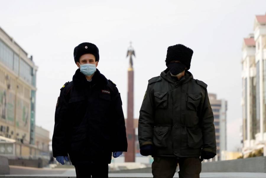Supera Rusia los 900 mil casos de covid-19