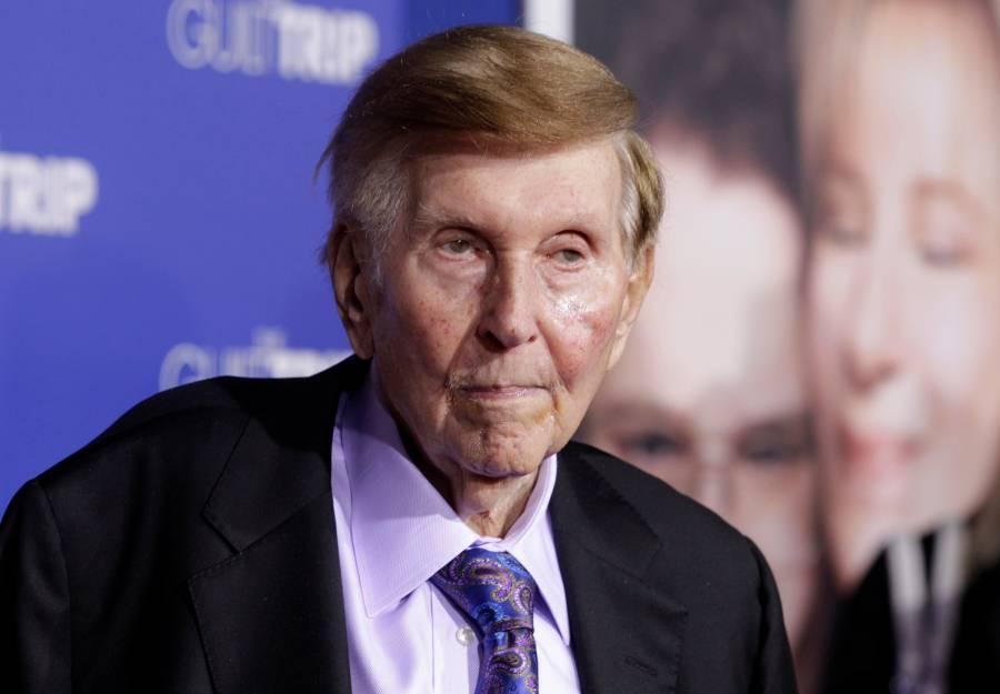 Muere Sumner Redstone, dueño de Paramount Pictures