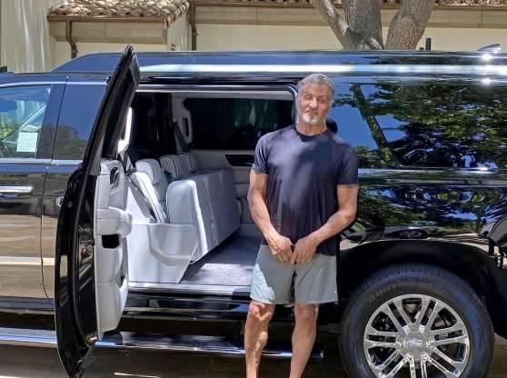 Sylvester Stallone pone a la venta su Cadillac Escalade