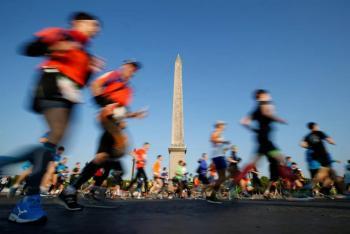 Cancelan Maratón de París por pandemia de Covid-19