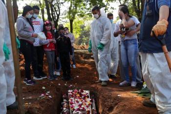 Brasil reporta más de mil muertes por Covid-19 en las últimas 24 horas