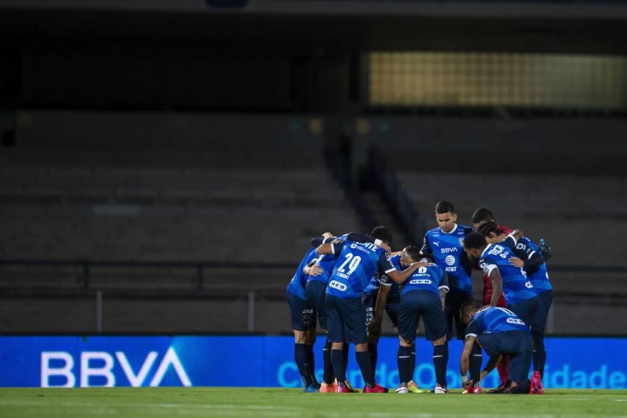 Rayados reporta nuevo caso de COVID-19 tras juego ante Pumas