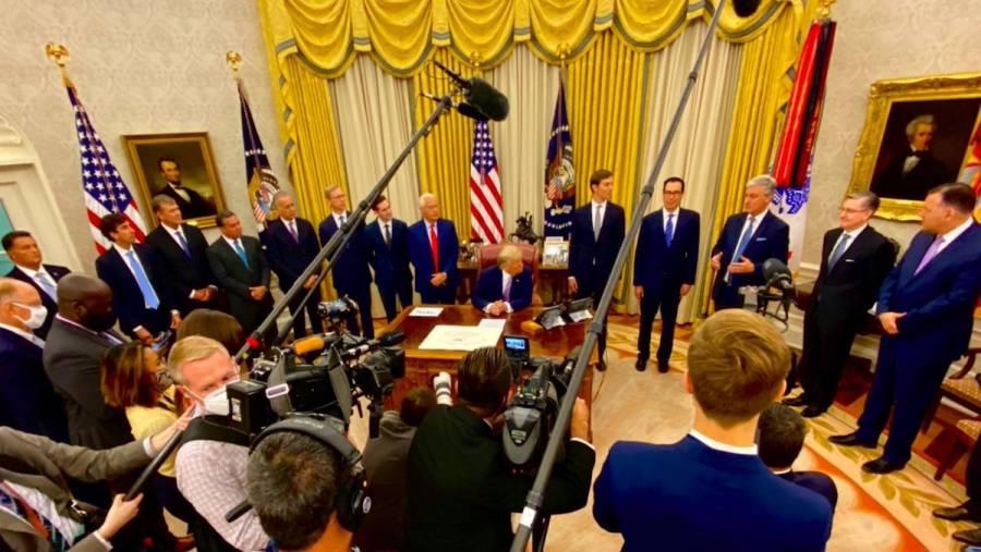 Trump revela acuerdo de paz histórico entre Israel y Emiratos Arabes Unidos