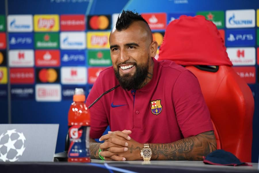 Barcelona es el mejor equipo del mundo y superaremos al Bayern: Vidal
