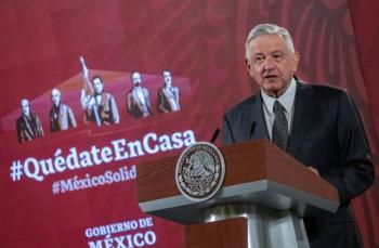 AMLO: Peña y Calderón deben declarar ante FGR
