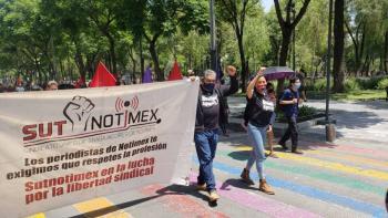 Notimex incumple con Presidente AMLO y rompe negociación para resolver huelga