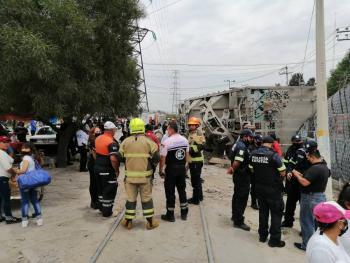 Video: Tren se descarrila en límites de Neza y Chimalhuacán