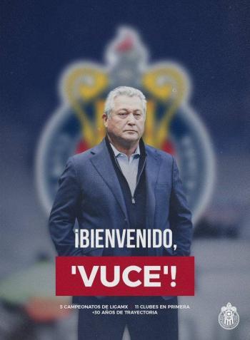 Fichan a El Rey Midas: Vucetich nuevo DT de Chivas