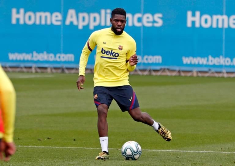 Samuel Umtiti da positivo por COVID-19; no viajó a Lisboa con el Barça