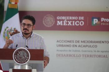 Sedatu entrega obras en colonias marginadas de Acapulco