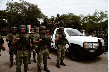 GUARDIA NACIONAL Y EL C5 DE MORELOS FRUSTRAN EL ROBO DE 50 TONELADAS DE ABARROTES