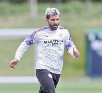 Aguero se pierde el duelo entre el Manchester City vs Lyon