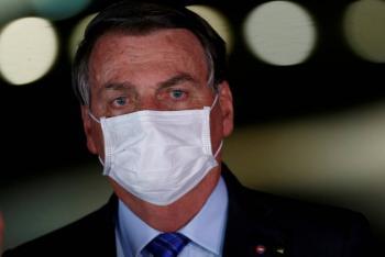 Aprobación de Bolsonaro en su máximo punto pese a pandemia