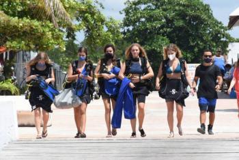 Sargazo, crisis, promoción y Covid espantan al turismo