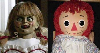 Annabelle se escapa de su vitrina del museo de los Warren