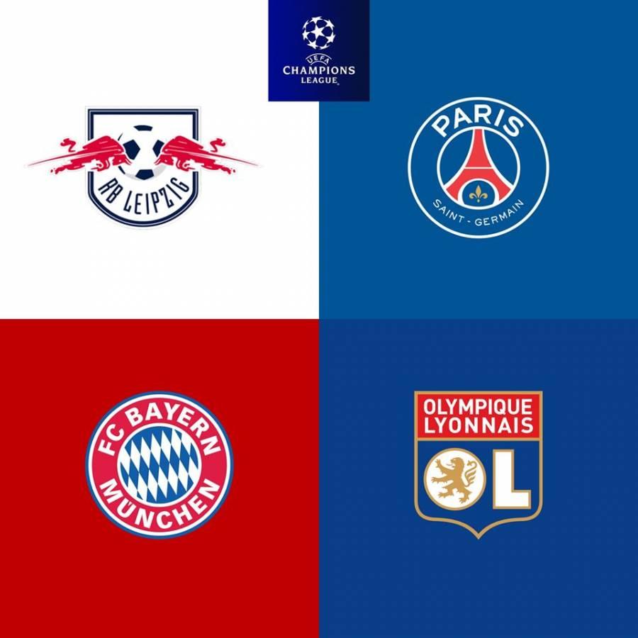Ya están definidos los cuartos de final para la Champions League