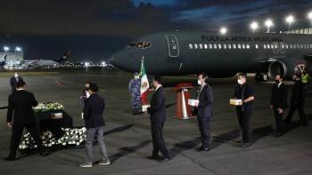 Repatrian 18 urnas de mexicanos fallecidos en Estados Unidos por Covid-19