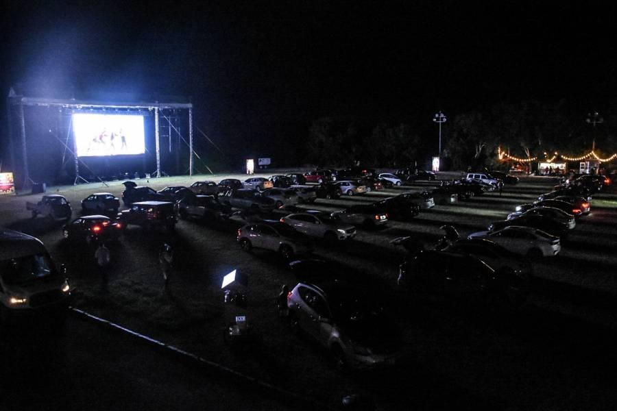 Autocinema de Tijuana quiso hacer concierto sin permiso