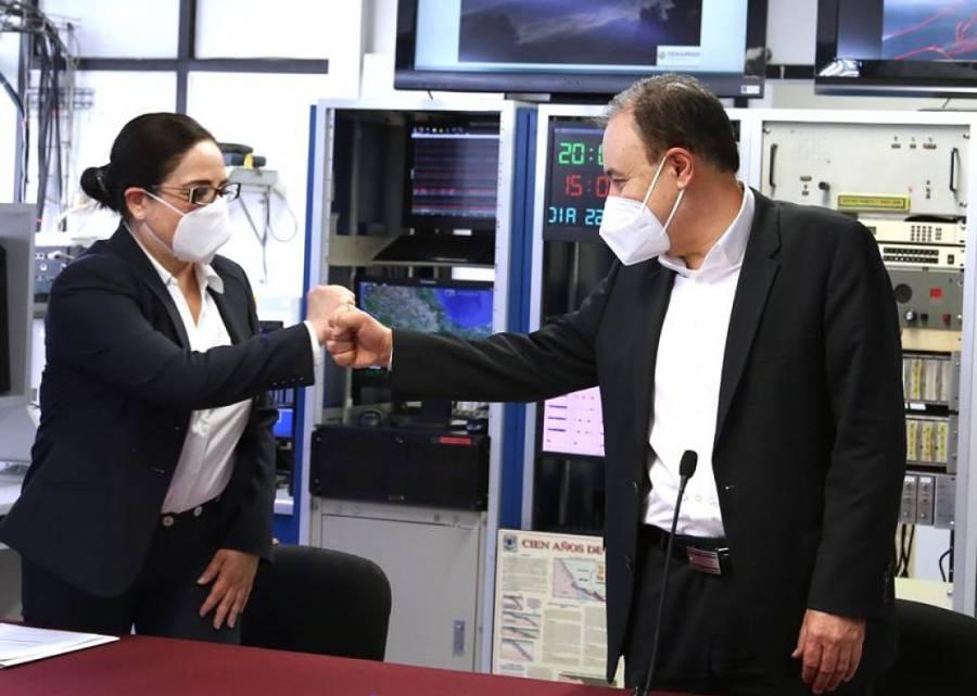 Durazo toma protesta a Laura Velázquez como coordinadora Nacional de Protección Civil