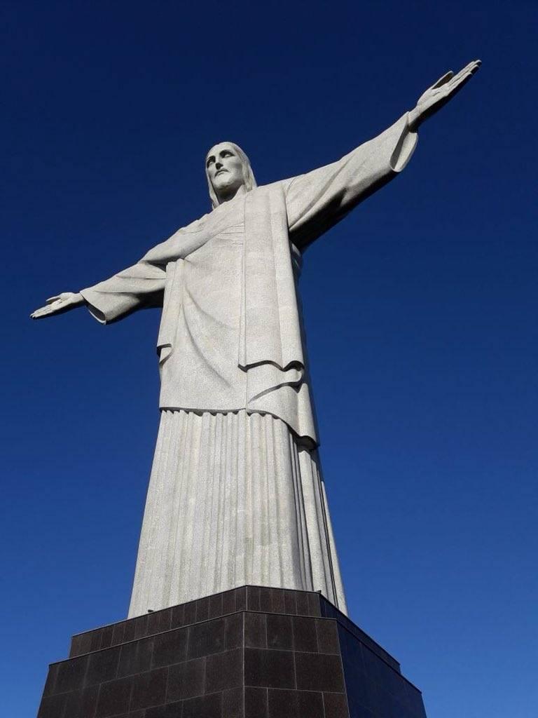 Cristo Redentor reabre sus puertas en Río de Janeiro