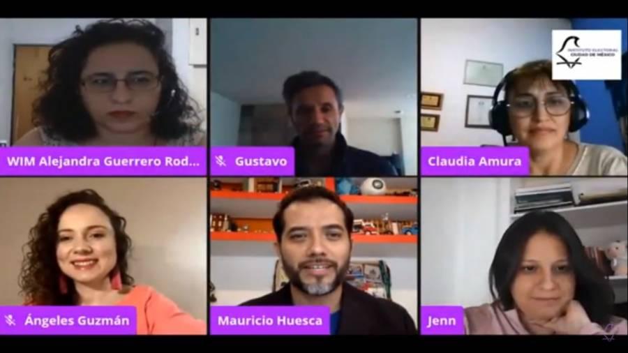 Realiza IECM jornada virtual de Ajedrez, Ciencia y Democracia para fomentar igualdad de género