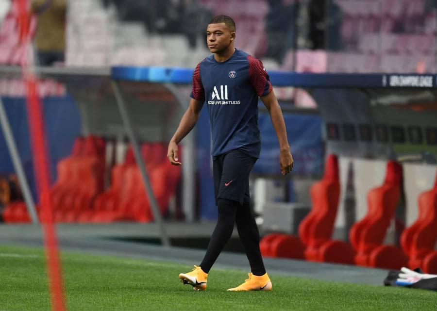 Mbappé jugaría de inicio ante el Leipzig