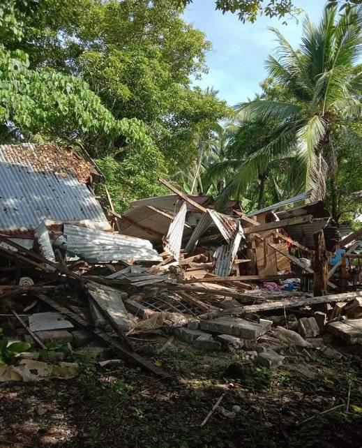 Filipinas fue sacudida por un terremoto de 6,6
