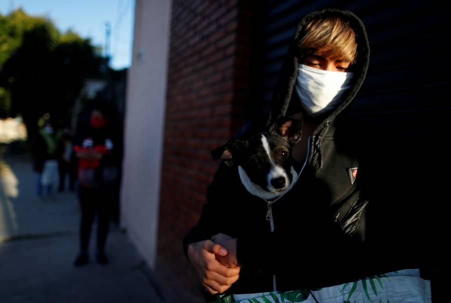Argentina supera los 300 mil contagios por coronavirus