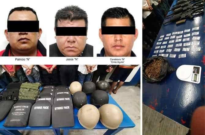 Arrestan en Veracruz a jefe policial por supuestos nexos con el narcotráfico