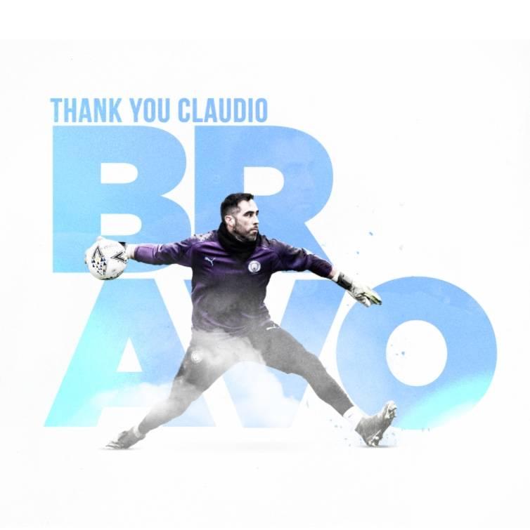 Manchester City anuncia la salida de Claudio Bravo