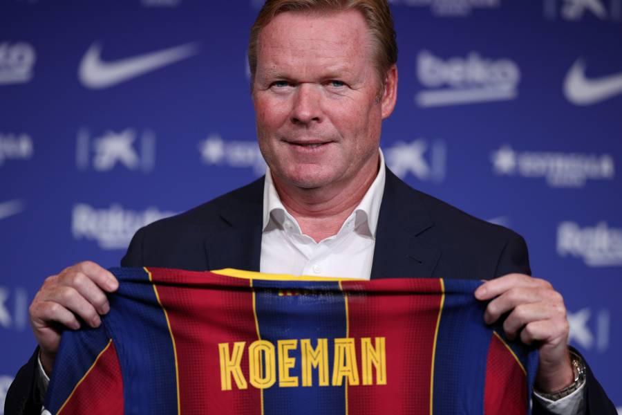 Koeman recorre un camino conocido entre Holanda y Barcelona