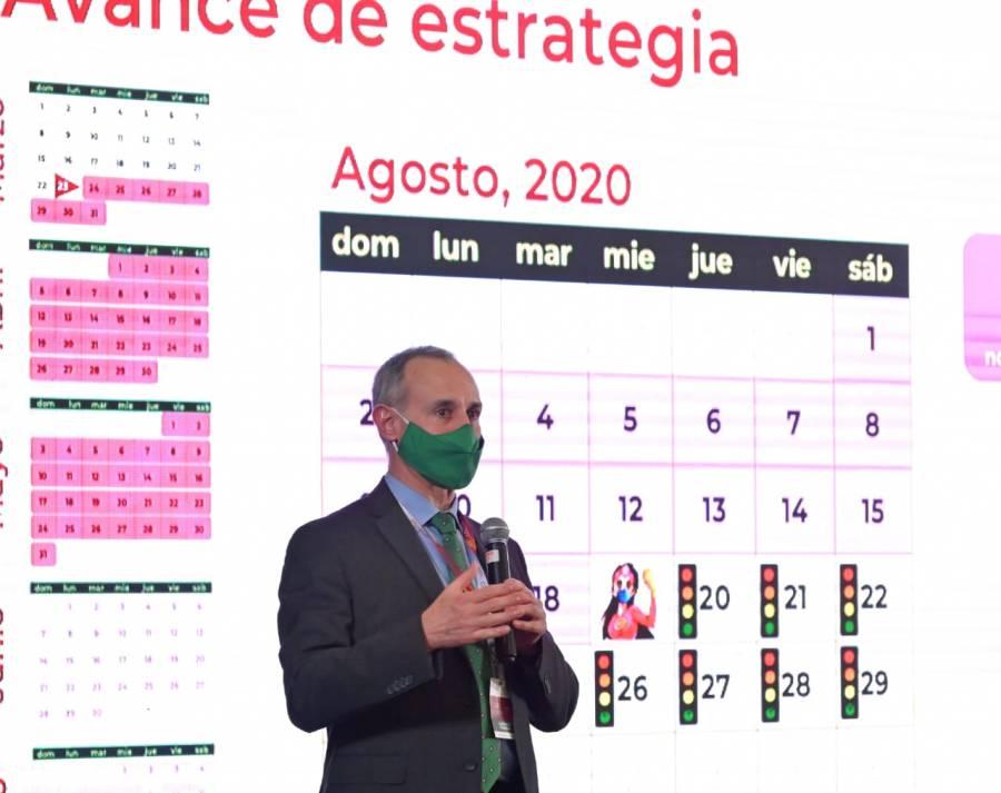 """López-Gatell afirma que hay """"clara disminución"""" de pandemia"""