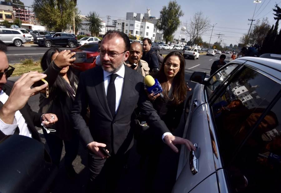 Luis Videgaray dice que Lozoya miente y que sus acusaciones son falsas