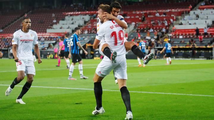 Sevilla se impone al Inter y es campeón de la Europa League